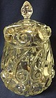 "Snail Crystal Cookie Jar 9"" Duncan Miller Glass Company"