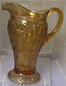 Rock Crystal Amber Fancy Tankard