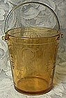 Fostoria Vernon Amber Ice Bucket