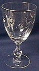 Tiffin Daphine Crystal Goblet