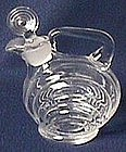 Cambridge Nautilus Crystal Oil Bottle and Stopper