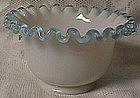 Fenton Aqua Crest Deep Dessert Bowl