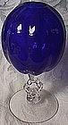 Cambridge Royal Blue Keyhole Ivy Bowl