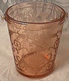 Fostoria Versailles Rose Ice Bucket