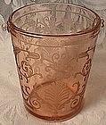 Fostoria Versailles Rose Ice Bucket