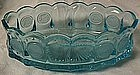 Fostoria Coin Blue Oval Bowl