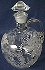 Cambridge Gloria Crystal Decanter and Stopper