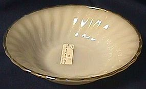 Fire King Golden Shell Soup Bowl