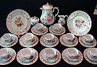 Marvelous Antique Dresden Coffee Service