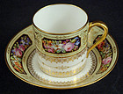 Antique Sevres French Cup & Saucer