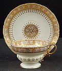 Antique Willets Belleek Tea Cup & Saucer