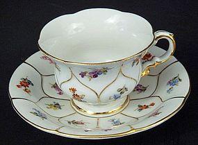 Cute Meissen Demitasse Cup & Saucer