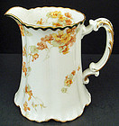 Antique Haviland Limoges Art Nouveau Water Pitcher