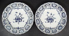 Pair of Antique Royal Berlin KPM Cabinet Plates