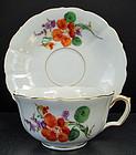 Vintage Meissen Tea Cup & Saucer