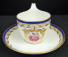 Classic Antique KPM Berlin Demitasse Cup & Saucer