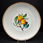 Unusual Antique Mintons Cabinet Plate with Peaches