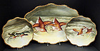 10 Piece Hand Painted Limoges Game Bird Set
