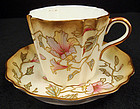 Antique Wedgwood Porcelain Tea Cup & Saucer