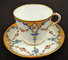Charming Antique Minton Tea Cup & Saucer
