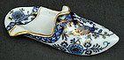 Antique Meissen Persian Style Slipper