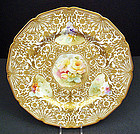 Spectacular Royal Doulton Cabinet Plate or Charger