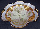 Frilly Antique Pickard Bowl, Artist Signed