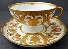 Antique Haviland & Co. Limoges Tea Cup & Saucer