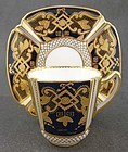 Gilded Antique Copelands Tea Cup & Saucer