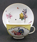 Rare Antique Meissen Tea Cup & Saucer, c.1725