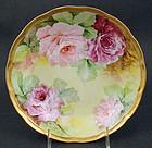 Beautiful Antique Ginori Hand Painted Bowl, Roses