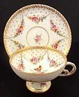 Sweet Antique Hirsch Dresden Demitasse Cup & Saucer
