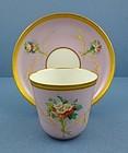 Fragile Antique Paris Tea Cup & Saucer