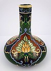 Arts & Crafts Shelley Late Foley Intarsio Ceramic Vase