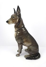 Fine Rosenthal German Shepherd Dog Figurine