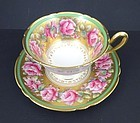 Charming Vintage Shelley Rose Tea Cup & Saucer