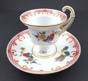 Superb Antique Meissen Kakiemon Demitasse Cup & Saucer