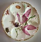 Antique Haviland & Co. Limoges Marine Life Oyster Plate