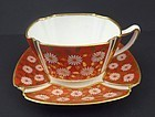 Antique Copeland Tea Cup & Saucer