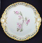 Antique Haviland Limoges Serving Platter with Roses