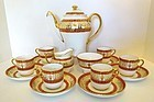 Vintage Mintons Coffee Service for 6