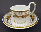 Antique Furstenburg Tea Cup & Saucer
