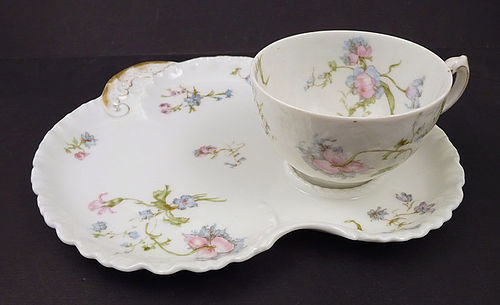 Antique Haviland Limoges Tea & Biscuit Tray
