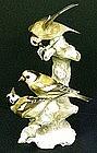 Lifelike Hutschenreuther Bullfinches, Signed Tutter
