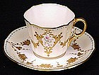Exceptional Lenox Jeweled Enameled Cup and Saucer
