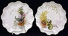 Pair  of Doulton Burslem Art Nouveau Plates