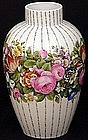 Huge Nymphenburg Floral Vase