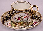 Doulton Demitasse Cup and Saucer, Signed Percy