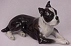 Terrific Rosenthal Boston Bull Terrier Dog
