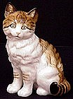 Adorable Hutschenreuther Tabby Cat